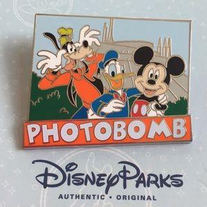Disney Parks Space Mountain Photobomb Pin